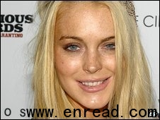 Lohan was not at the house when the burglary occurred